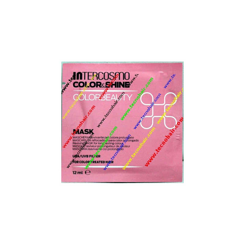 Intercosmo color & shine color beauty maschera 12 ml