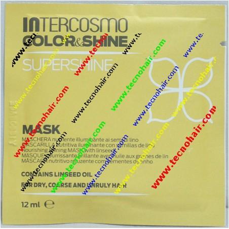 Intercosmo color & shine super shine maschera 12 ml tecno hair