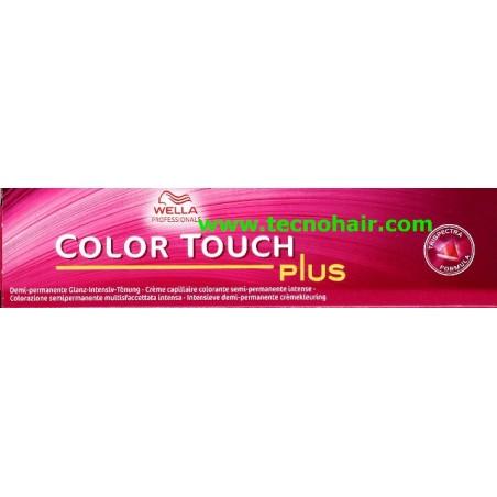 Color touch 55/05 plus castano chiaro intenso naturale mogano 60 ml