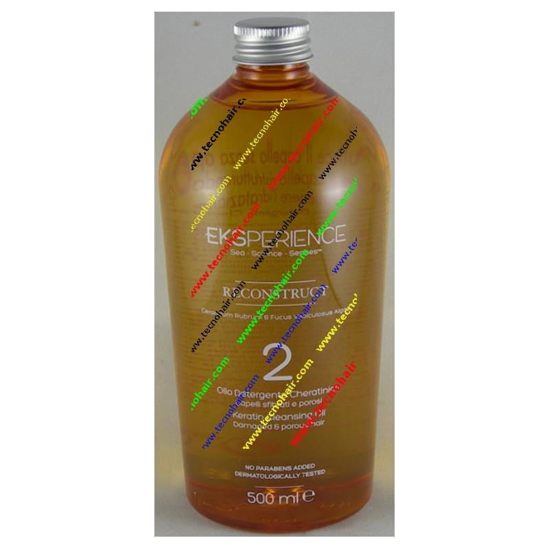 Eks reconstruct 2 talassotherapy olio detergente cheratinico 500ml