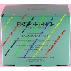 Eks talassotherapy aromacologico sebo equilibrante 6 x 50 ml