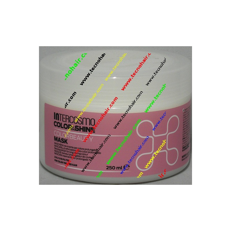 Intercosmo color shine color beauty maschera 250 ml