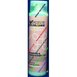 Intercosmo color shine color beauty shampoo & conditioner 2 in 1 300 ml
