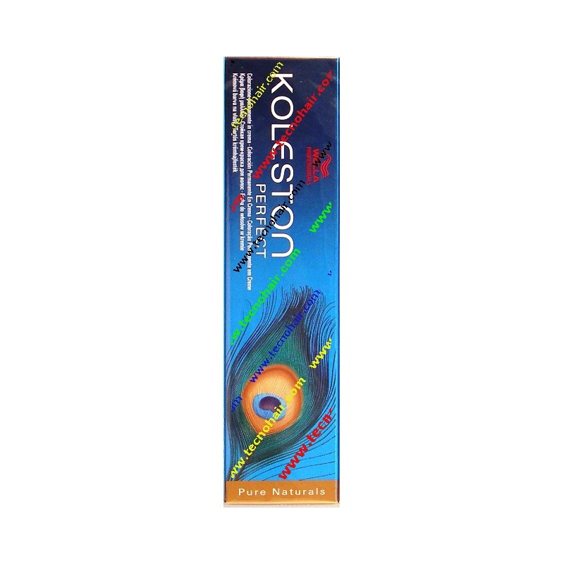 wella koleston perfect p.n. 7/03 biondo medio naturale dorato 60 ml