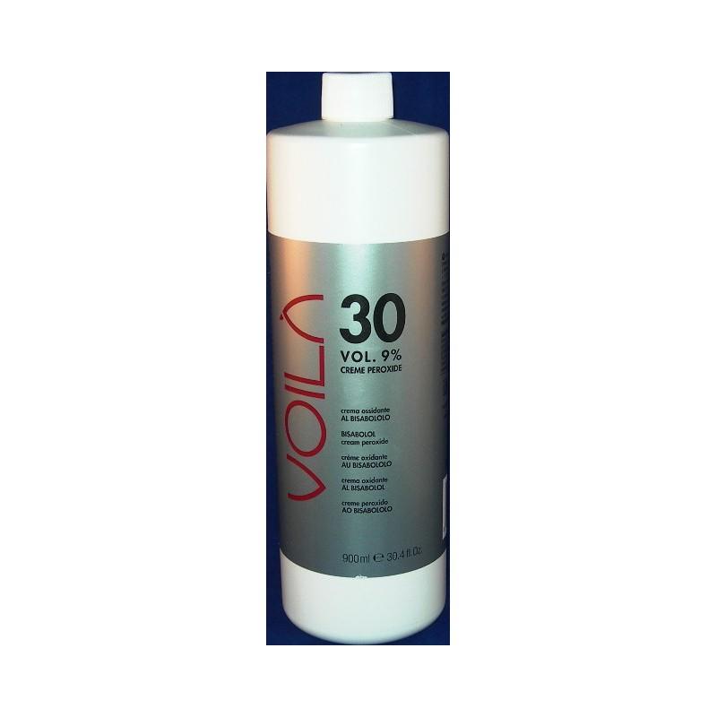 Voila' creme 3C peroxide ossigeno 30 vol 900 ml