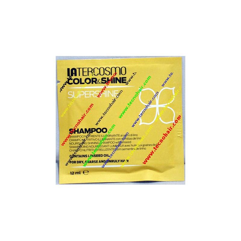 Intercosmo color & shine super shine shampoo 12 ml
