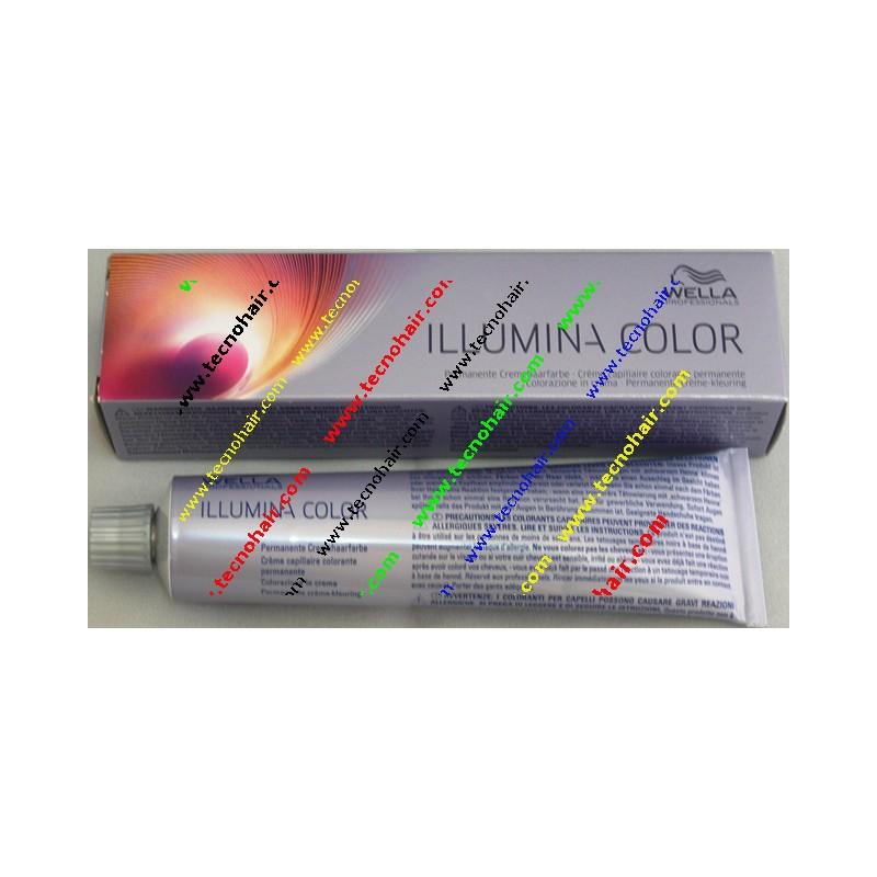 Wella illumina color 10/05 biondo platino naturale mogano 60 ml