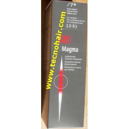 wella magma /7 sabbia scuro 120 gr