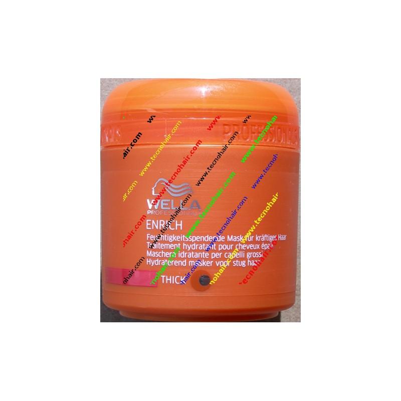 Wella care enrich maschera idratante capelli grossi 150 ml