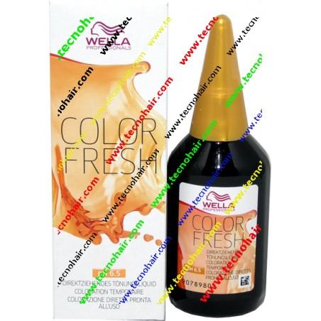 Wella color fresh 5/55 castano chiaro mogano intenso 75 ml