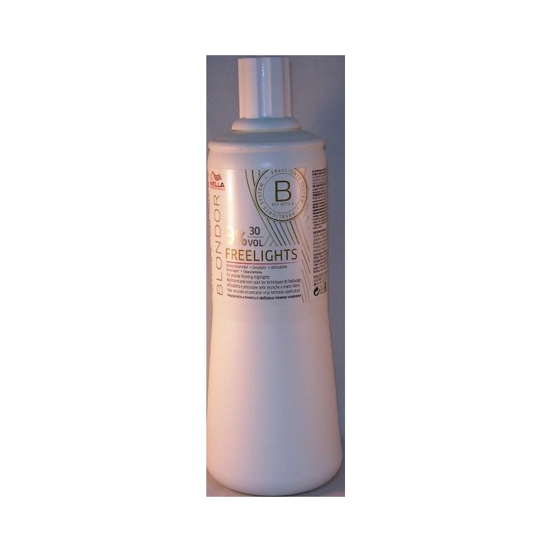 Wella blondor freelights attivatore 30 v. 9%