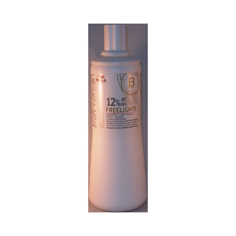 Wella blondor freelights attivatore 40 v. 12%