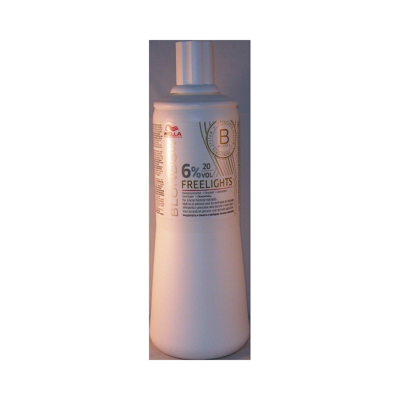 Wella blondor freelights attivatore 20 v. 6%
