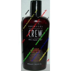 American crew 24 hour deodorant body wash  250ml