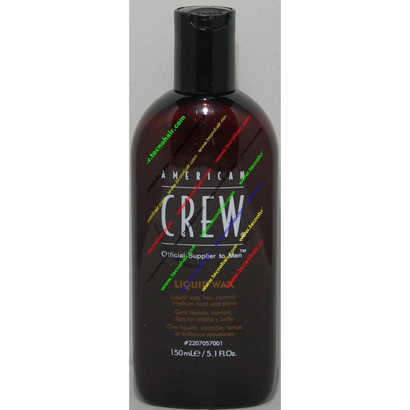 American crew liquid wax cera liquida 150 ml