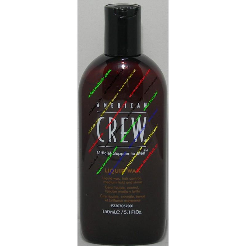 American crew liquid wax cera liquida 150 ml