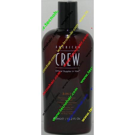 American crew 3 in 1 450 ml