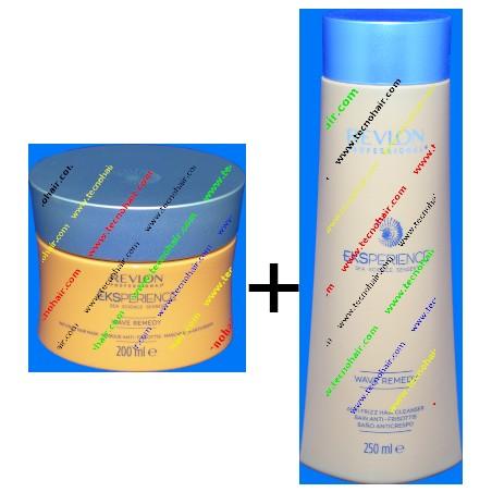 Eks wave maschera 200 ml e shampoo 250 ml OMAGGIO