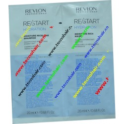 Restart hydration duo shampoo + maschera monodose 20 ml